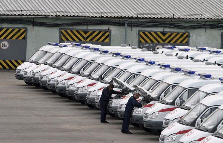 Вследующем году будет закуплено 1317 авто скорой помощи для нужд регионов
