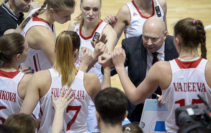 БаскетболисткиРФ одержали 5-ю победу подряд вотборе ЧЕ-2017, одолев швейцарок