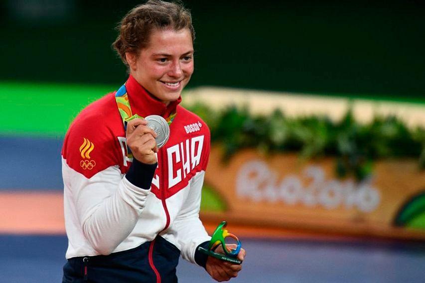 Наталья Воробьева вышла вполуфинал олимпийского турнира повольной борьбе