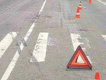 В Железногорске водитель сбил на переходе подростка и скрылся
